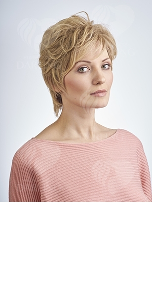 Натуральный парик Диана (25 см)