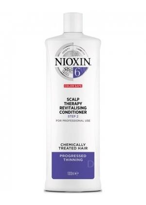 Кондиционер для жестких редеющих волос Nioxin (System 6) 1000 мл.