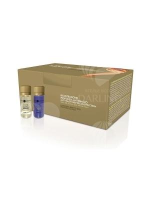 Глубокое восстановление с анти-желтым эффектом Hair Company 10*10 мл.