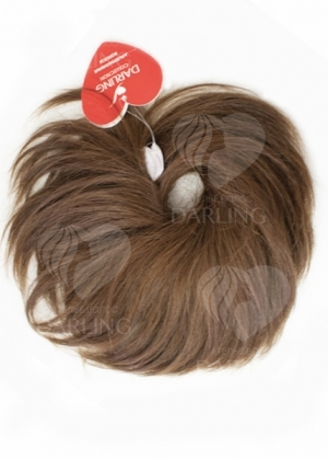 Шиньон резинка из волос (15 см)