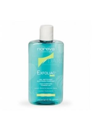 Гель мягкий очищающий для жирной кожи Noreva Exfoliac 250 мл.