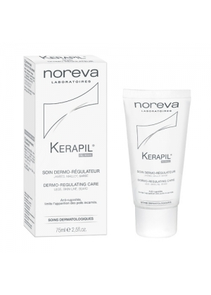 Дерморегулирующий уход против вросших волос Noreva Kerapil 75 мл.