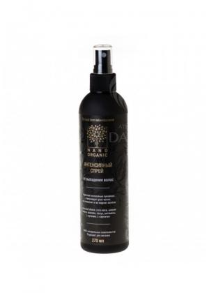 Интенсивный спрей от выпадения волос Nano Organic 270 мл.