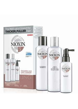 Набор средств для окрашенных волос Nioxin (System 3) 150+150+50 мл.