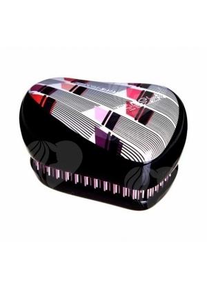 Расческа для волос Tangle Teezer Compact Styler Lulu Guinness (черный)