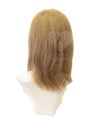Полупарик Доротея из натуральных волос с пробором (35 см)