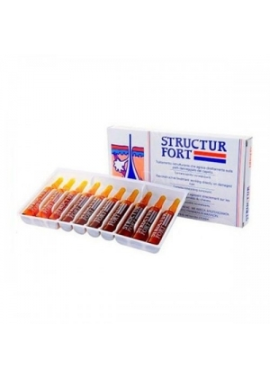 Минеральный комплекс для восстановления волос Dikson Structur 10x12 мл.