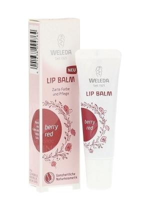 Увлажняющий бальзам для губ ягодный Weleda Lip Balm Berry Red 10 мл.