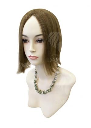 Полупарик Азалия из натуральных волос без пробора (25 см)