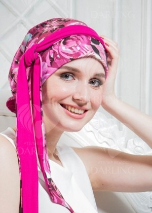 Тюрбан Дана (розовый)