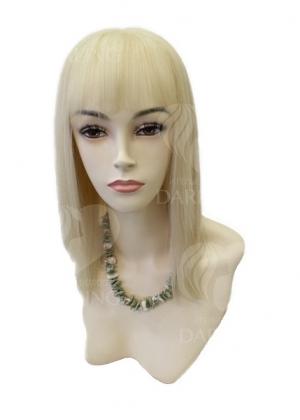 Полупарик Бриджит из натуральных волос с пробором (40 см)