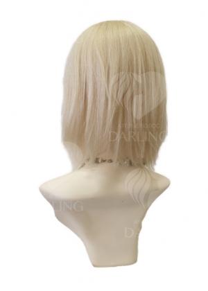 Полупарик Аврелия из натуральных волос без пробора (30 см)