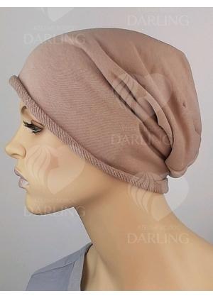 Шапочка Эмми пыльно-розовая