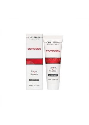 Сыворотка-контроль для жирной кожи Christina Comodex 50 мл.