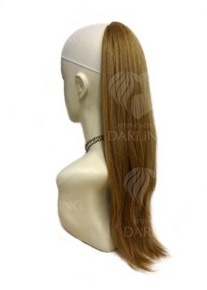 Шиньон Каскад из натуральных волос (50 см)