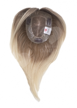 Накладка на сетке из натуральных волос (30 см)