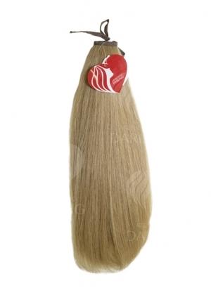 Хвост на ленте из натуральных волос (37,5 см)