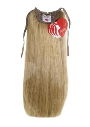 Хвост на ленте из натуральных волос (35 см)