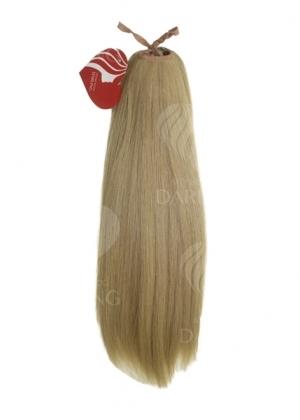 Хвост на ленте из натуральных волос (40 см)
