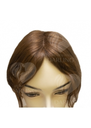 Накладка теменная Топпик из натуральных волос (15 см)