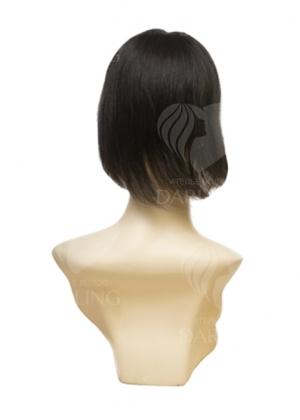 Накладка Топпик на сетке из натуральных волос (25 см)