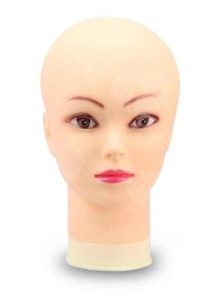 """Манекен """"Голова"""" для укладки париков (резиновый)"""