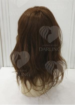Система волос на сетке из натуральных волос арт. 17 (40 см)