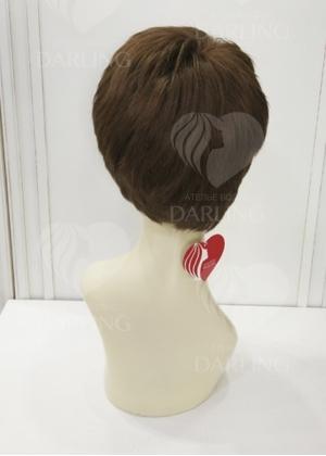 Система волос на сетке из натуральных волос арт. 08 (15 см)