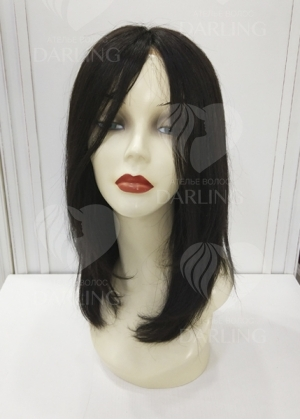 Система волос на сетке из натуральных волос арт. 02 (40 см)