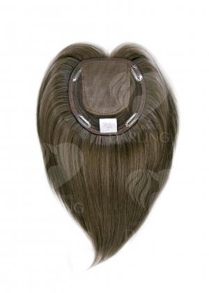 Накладка теменная из натуральных волос (25 см)