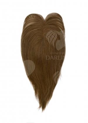 Накладка на пробор из натуральных волос (35 см) цвет 7/34