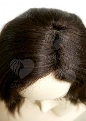 Натуральный парик Розана (20 см)