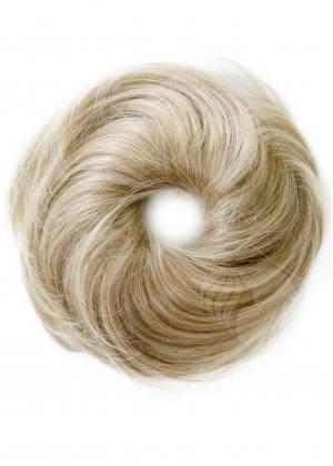 Шиньон резинка из натуральных волос арт.002