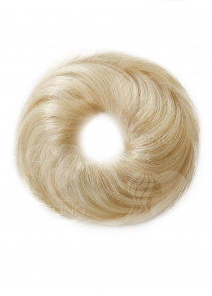 Шиньон резинка из натуральных волос арт.009