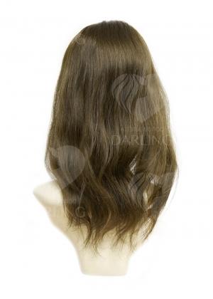 Шиньон полусфера из натуральных волос (40 см)
