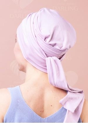 Чалма нежно-розовая