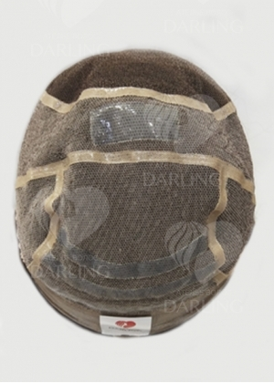 Система волос на сетке из натуральных волос арт. 08 (30 см)