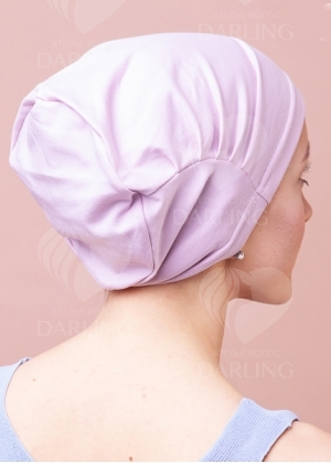 Шапочка Комфорт нежно-розовая