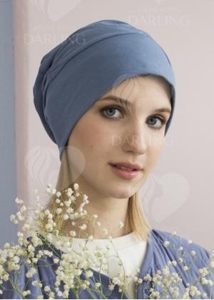 Шапочка Диана+ голубая