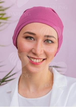 Шапочка Классика+ розовая