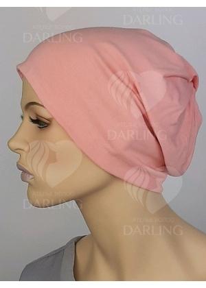 Шапочка Марта светло-розовая