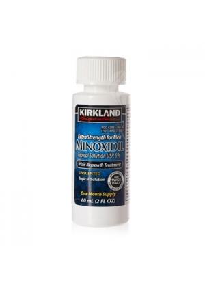 Лосьон для роста волос Minoxidil Kirkland 5% (1мес)