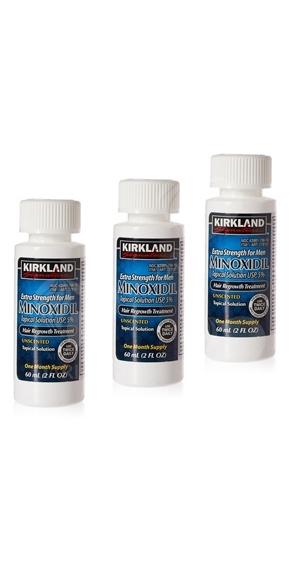 Лосьон для роста волос Minoxidil Kirkland 5% (3мес)