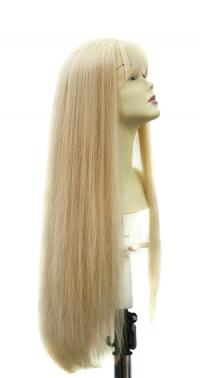 Полупарик из натуральных волос Валерия с пробором (60 см)