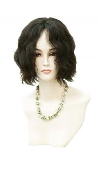 Полупарик Дарина из натуральных волос с пробором (30 см)