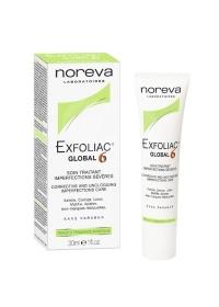 Крем для проблемной кожи лица Глобал 6 Noreva Exfoliac 30 мл.