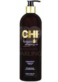Шампунь восстанавливающий CHI Argan Oil 739 мл.