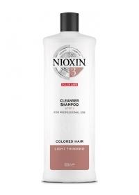 Шампунь для тонких окрашенных волос Nioxin (System 3) 1000 мл.