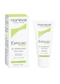 Отшелушивающий гель для жирной кожи с AHA Noreva Exfoliac 50 мл.