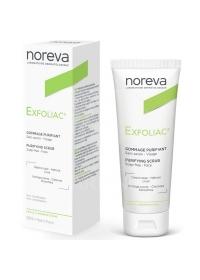 Скраб очищающий для проблемной кожи Noreva Exfoliac 50 мл.